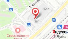 Гостиница Царицынский комплекс на карте