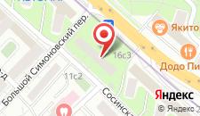Апартаменты Lux-Apartments Волгоградский проспект,16 на карте