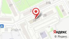 Отель Вечный Зов Кожуховская на карте