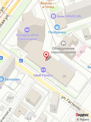 Китайский ресторан Hong Kong на карте