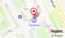 Отель Арома на Кожуховской на карте
