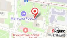 Хостел Mother Russia Hotel and Hostel на карте