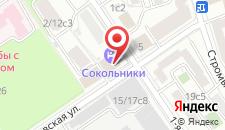 Гостиница Сокольники на карте