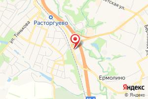 Адрес Подключение газа на карте