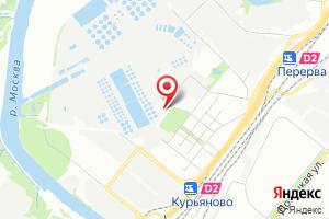 Адрес Производственно-технический отдел Курьяновских очистных сооружений Мосводоконал на карте