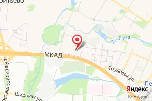 Адрес Мой Пруд на карте