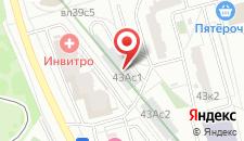 Гостиница Орехово на карте