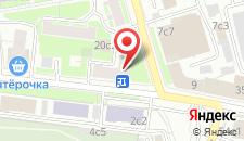 Мини-отель Lefort на карте
