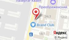 Хостел Карамель на карте