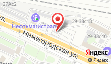 Хостел СВК Таганский на карте