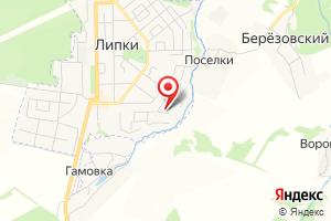 Адрес Газпром газораспределение Тула, участок филиала в г. Богородицке, Липковская газовая служба на карте