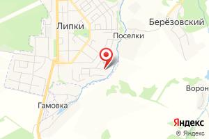 Адрес Газпром межрегионгаз Тула, Киреевская районная служба - Липковский участок, г. Липки на карте