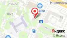 Хостел СВК на карте