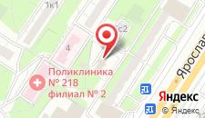 Хостел Вежливый Лось на Ярославском шоссе на карте