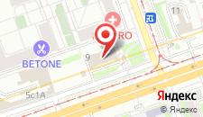 Общежитие гостиничного типа Hotelhot Авиамоторная на карте
