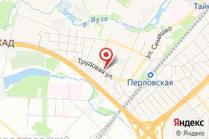 Адрес Электросеть на карте