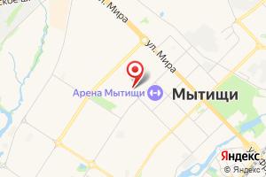 Адрес Абонентский отдел Водоканал-Мытищи на карте