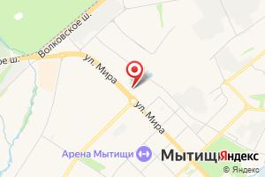 Адрес МосОблЭлектро на карте