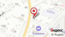 Гостиница Kaminn на карте