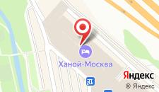 Апарт-отель Ханой-Москва на карте