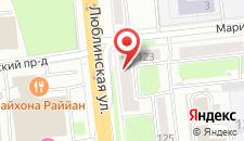 Гостиница Отдых-9 на карте
