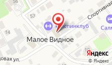 Гостиница Топспинклуб на карте