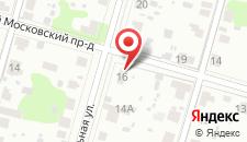 Гостевой дом Ямской на карте