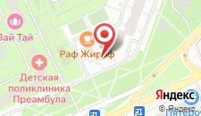 Отель на Окской на карте