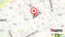 Гостевой дом У Саныча на карте