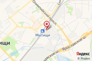 Адрес Тяговая подстанция Мытищи на карте