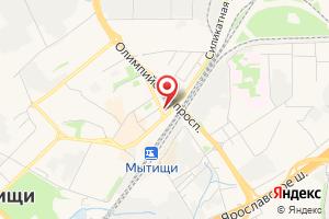 Адрес Эталон на карте