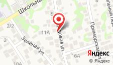 Отель Берег Мысхако на карте