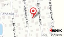 Гостевой дом Березка на карте
