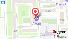 Отель Амай-отель на Первомайской на карте