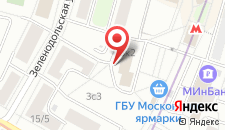 Гостиница МосУз центр на карте