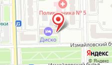 Гостиница Мастер-Отель Первомайская на карте