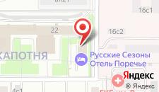 Отель Евросити на карте
