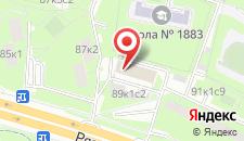 Хостел Уютный дом на Рязанском на карте