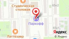 Отель Паркофф на карте