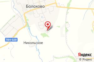 Адрес Электрическая подстанция № 77 Болоховская на карте