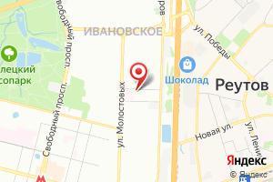 Адрес Мосводоканал, район по эксплуатации водопроводной сети № 3 на карте