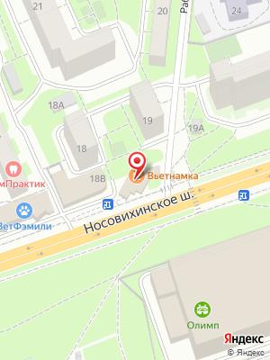 Вьетнамка на карте