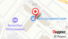 Общежитие гостиничного типа Hotelhot Котельники на карте