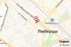 Адрес Насосная станция № 6 Люберецкого Водоканала на карте