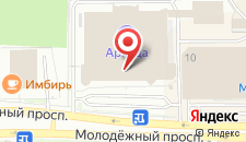Отель Лидер на карте