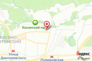 Адрес Канализационная насосная станция Кожухово на карте