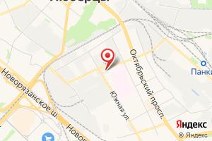 Адрес Люберецкий водоканал Насосная станция № 10 на карте