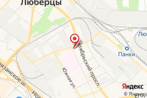 Адрес Краст на карте