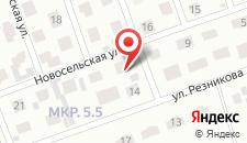 Отель VIP на карте