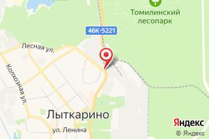 Адрес Водоканал КНС № 3 станция перекачки г. Лыткарино на карте